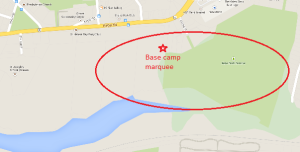Base camp marquee